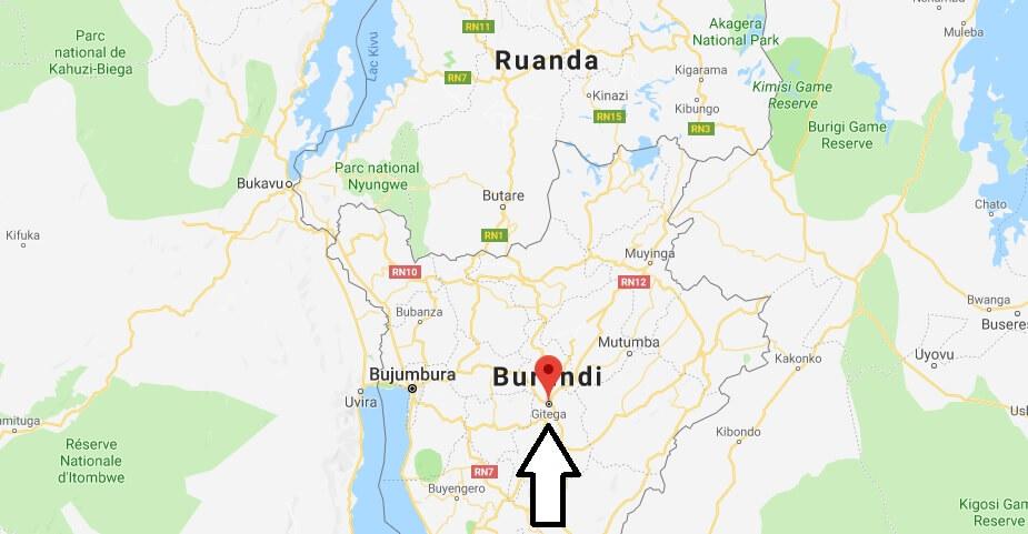 Was ist die Hauptstadt von Burundi