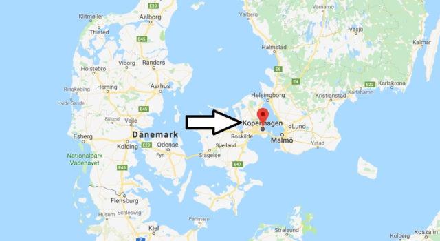 Was ist die Hauptstadt von Dänemark