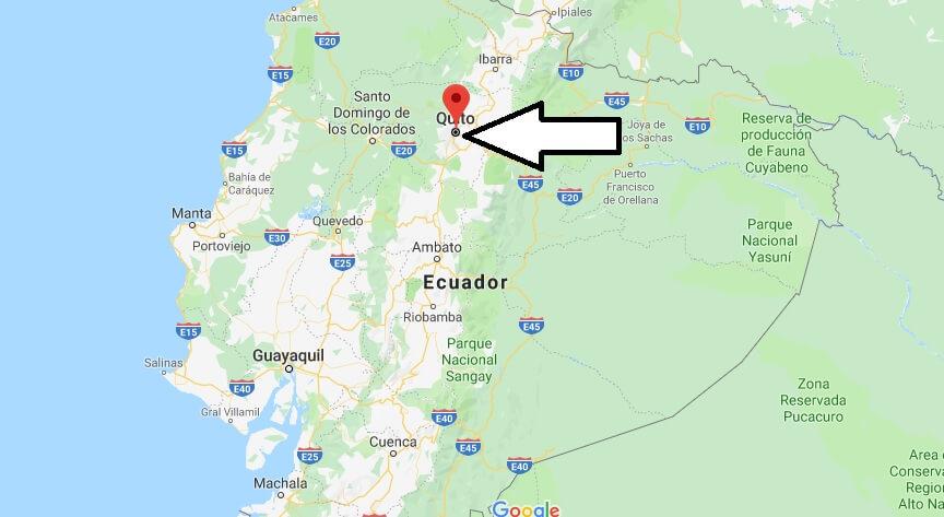 Was ist die Hauptstadt von Ecuador
