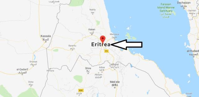 Was ist die Hauptstadt von Eritrea