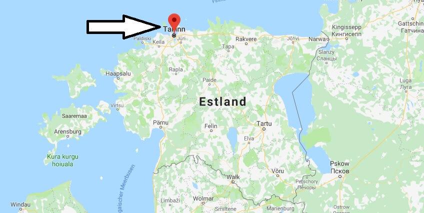 Was ist die Hauptstadt von Estland