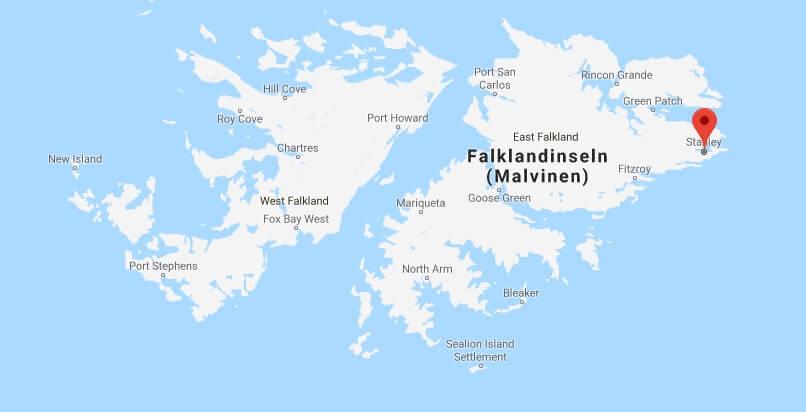 Was ist die Hauptstadt von Falklandinseln