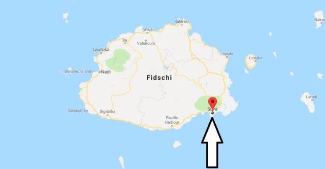 Was ist die Hauptstadt von Fidschi