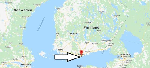 Was ist die Hauptstadt von Finnland