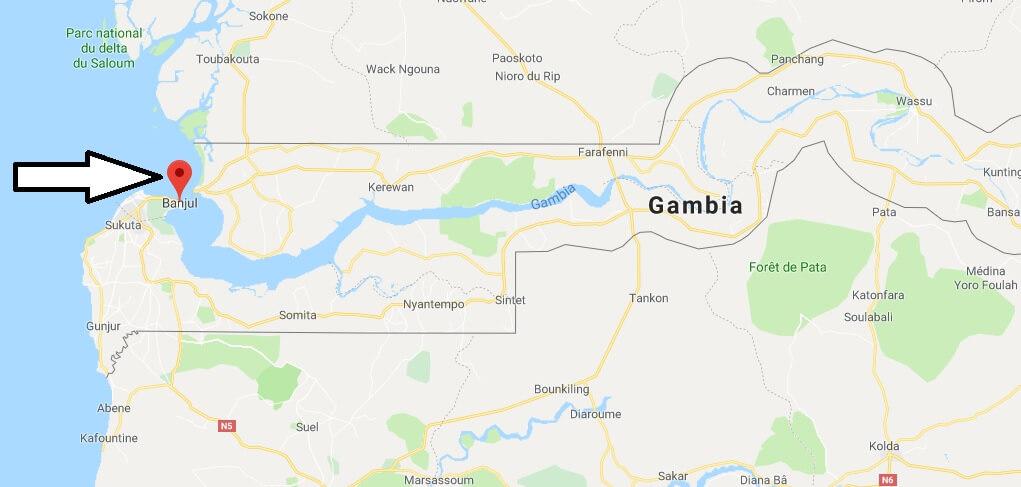 Was ist die Hauptstadt von Gambia