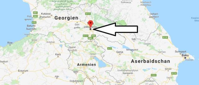 Was ist die Hauptstadt von Georgien