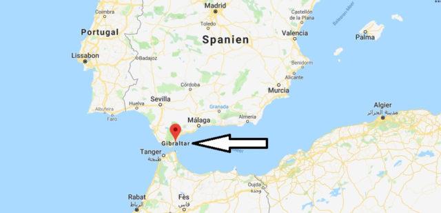 Was ist die Hauptstadt von Gibraltar