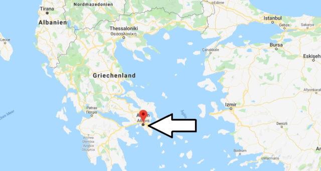 Was ist die Hauptstadt von Griechenland