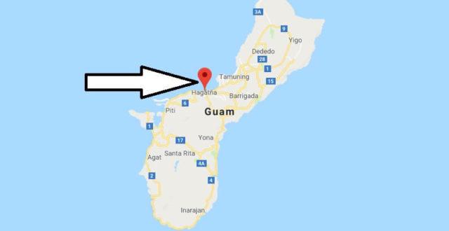 Was ist die Hauptstadt von Guam