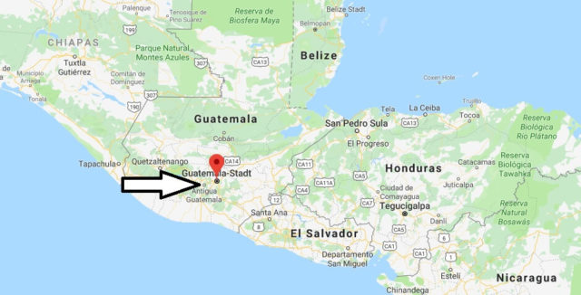 Was ist die Hauptstadt von Guatemala