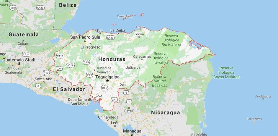 Was ist die Hauptstadt von Honduras