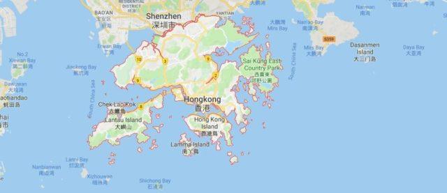 Was ist die Hauptstadt von Hongkong