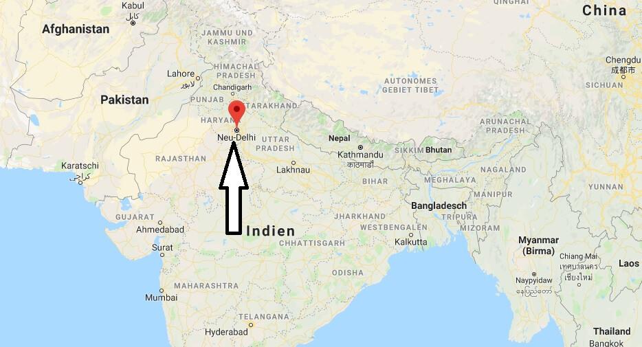 Was ist die Hauptstadt von Indien
