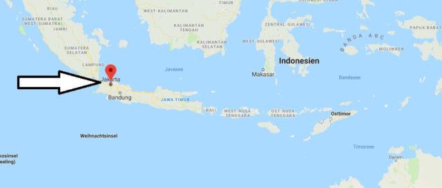 Was ist die Hauptstadt von Indonesien