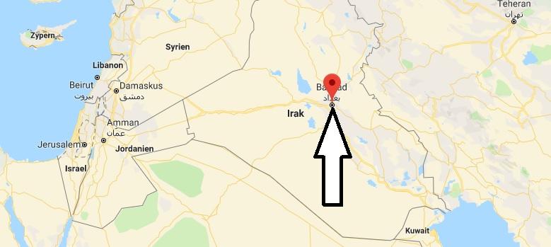 Was ist die Hauptstadt von Irak