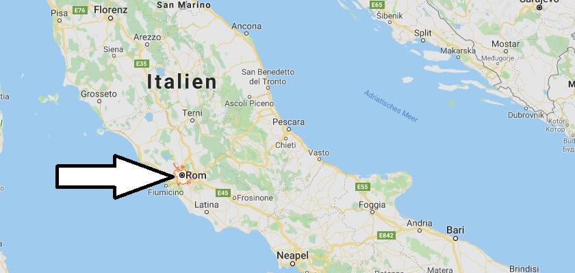 Was ist die Hauptstadt von Italien