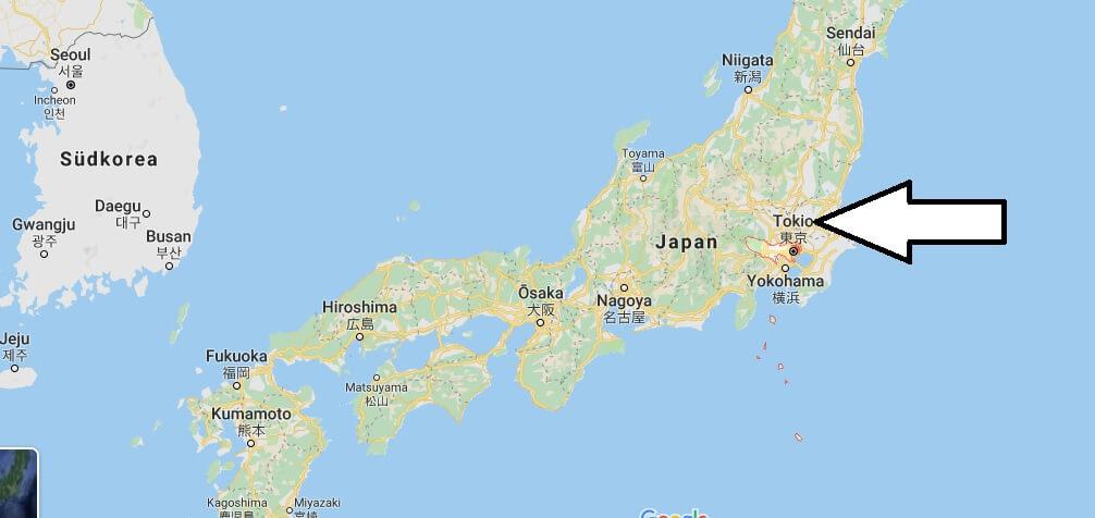 Was ist die Hauptstadt von Japan