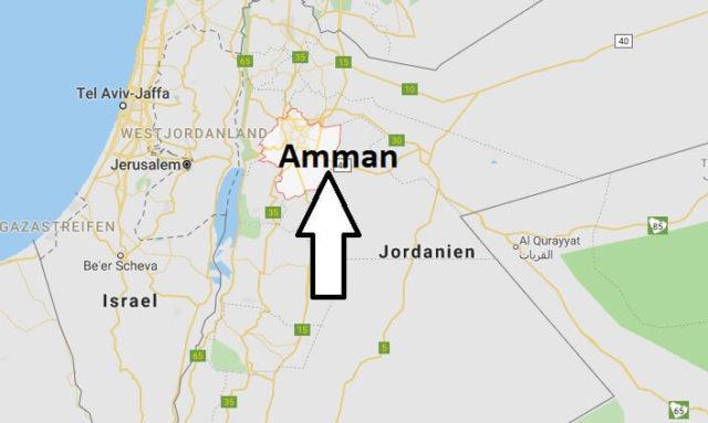 Was ist die Hauptstadt von Jordanien