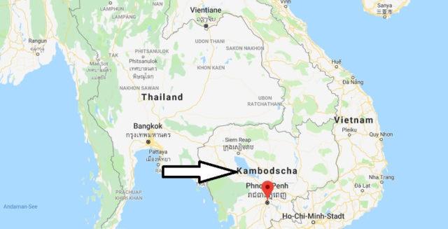 Was ist die Hauptstadt von Kambodscha