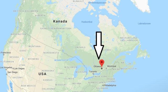 Was ist die Hauptstadt von Kanada