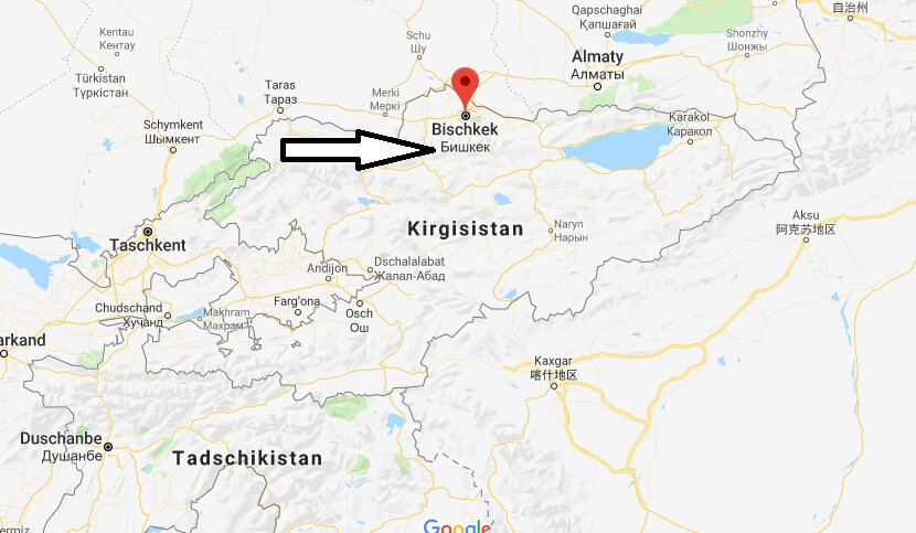 Was ist die Hauptstadt von Kirgisistan