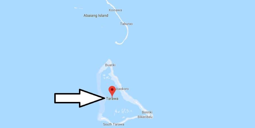 Was ist die Hauptstadt von Kiribati