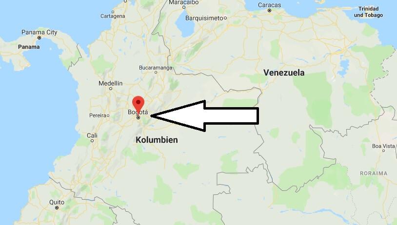 Was ist die Hauptstadt von Kolumbien