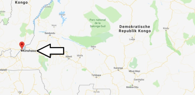 Was ist die Hauptstadt von Kongo, Demokratische Republik