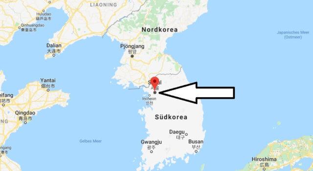 Was ist die Hauptstadt von Korea