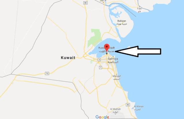 Was ist die Hauptstadt von Kuwait