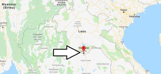Was ist die Hauptstadt von Laos