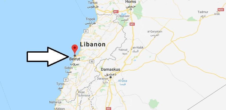 Was ist die Hauptstadt von Libanon