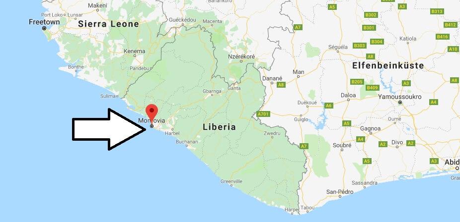 Was ist die Hauptstadt von Liberia