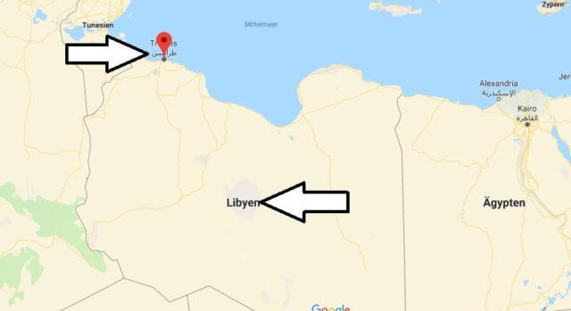 Was ist die Hauptstadt von Libyen