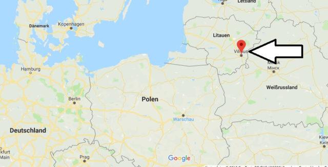 Was ist die Hauptstadt von Litauen