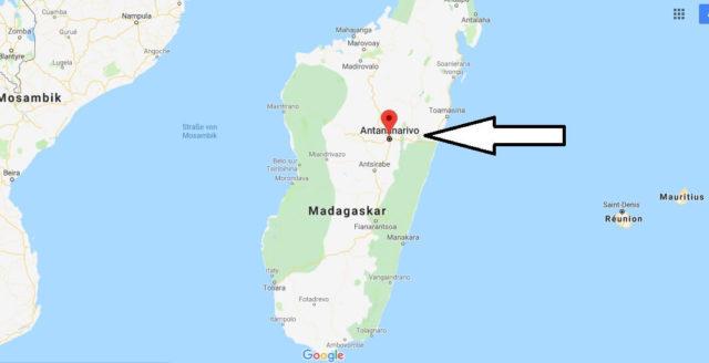 Was ist die Hauptstadt von Madagaskar