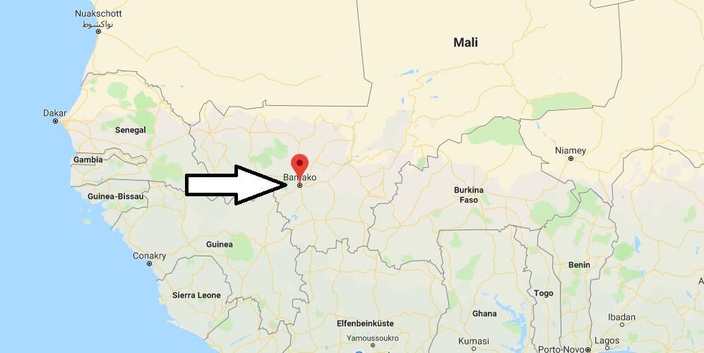 Was ist die Hauptstadt von Mali