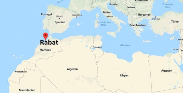 Was ist die Hauptstadt von Marokko
