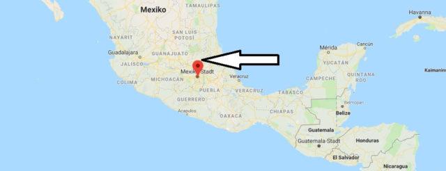 Was ist die Hauptstadt von Mexiko