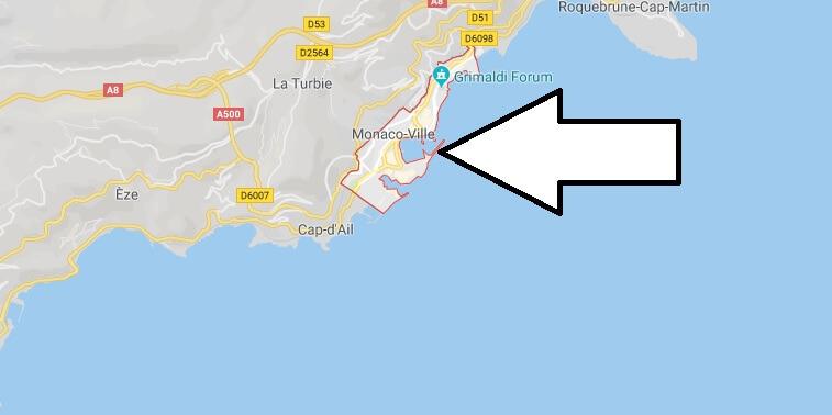 Was ist die Hauptstadt von Monaco