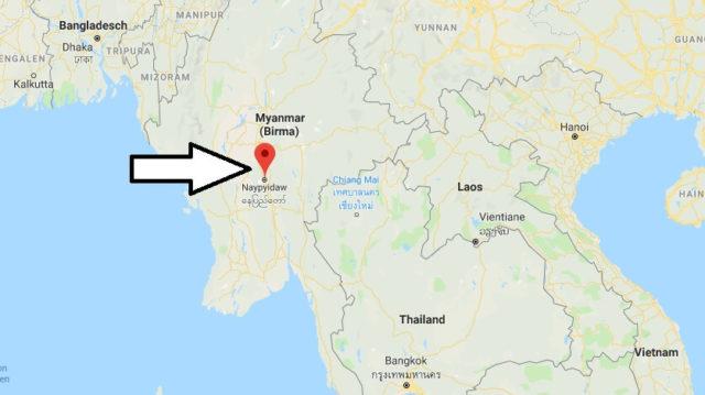 Was ist die Hauptstadt von Myanmar