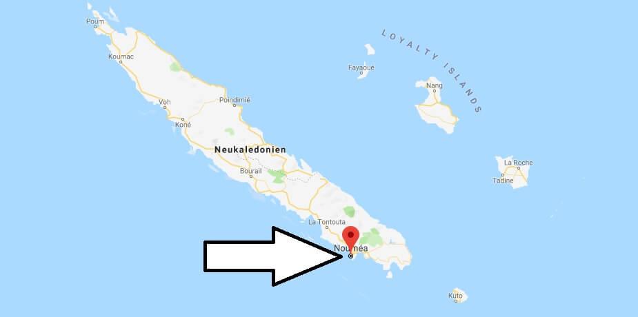 Was ist die Hauptstadt von Neukaledonien