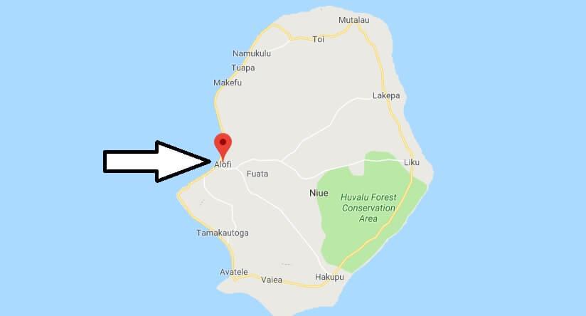 Was ist die Hauptstadt von Niue