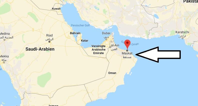 Was ist die Hauptstadt von Oman