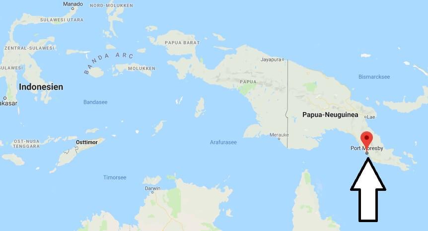 Was ist die Hauptstadt von Papua-Neuguinea