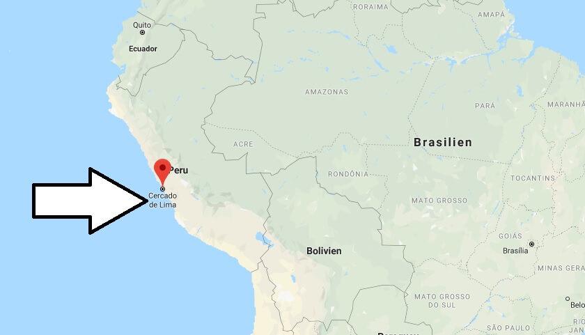 Was ist die Hauptstadt von Peru
