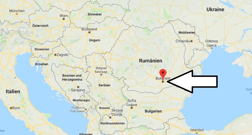 Was ist die Hauptstadt von Rumänien