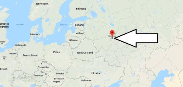 Was ist die Hauptstadt von (Russland) Russische Föderation