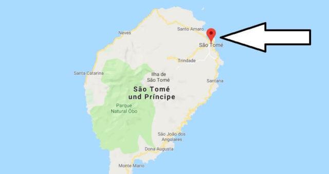 Was ist die Hauptstadt von São Tomé und Príncipe