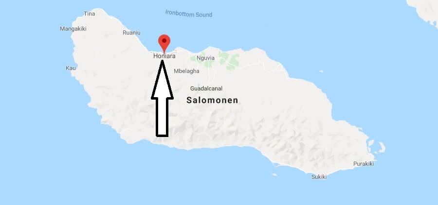 Was ist die Hauptstadt von Salomonen